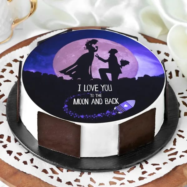 Proposal Chocolate Cake